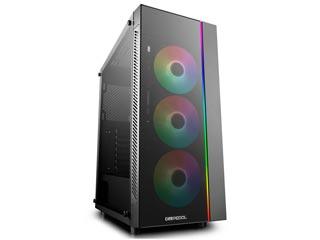 Deepcool Matrexx 55 ADD-RGB 3F Windowed RGB Mid-Tower Case Tempered Glass [DP-ATX-MATREXX55-AR-3F] Εικόνα 1