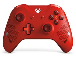 Microsoft XBOX One Wireless Controller - Sports Red Limited Edition [WL3-00126] Εικόνα 1