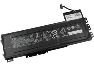 HP Primary Battery 9-Cell 90Wh 2.635Ah Li-Ion For ZBook 15 G3 / G4 [808452-002] Εικόνα 1
