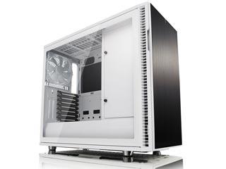 Fractal Design Define R6 USB-C Windowed Mid-Tower Case Tempered Glass - White / Black [FD-CA-DEF-R6C-WT-TGC] Εικόνα 1