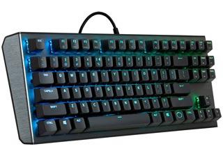 Cooler Master CK530 TenKeyLess RGB Mechanical Gaming Keyboard - Gateron Red Switches [CK-530-GKGR1-US] Εικόνα 1