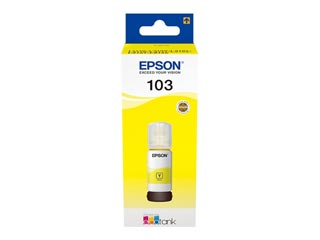 Epson 103 Inkjet Yellow 65ml Bottle [C13T00S34A] Εικόνα 1