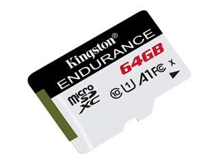 Kingston Endurance 64GB micro SDXC Class 10 UHS-1 U1 [SDCE/64GB] Εικόνα 1