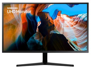 Samsung LU32J590UQUXEN 31.5 Ultra HD 4K QLED Monitor with FreeSync [LU32J590UQUXEN] Εικόνα 1
