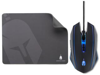 Spartan Gear Phalanx Wired Gaming Mouse & Mousepad Εικόνα 1