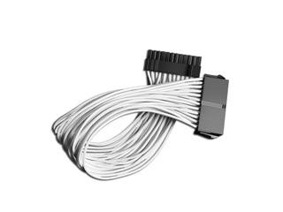 Deepcool 24Pin ATX Extension Cable 30cm - White [DP-EC300-24P-WH] Εικόνα 1