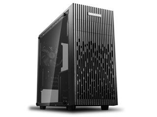 Deepcool Matrexx 30 Windowed Compact Micro-Tower Case Tempered Glass [DP-MATX-MATREXX30] Εικόνα 1