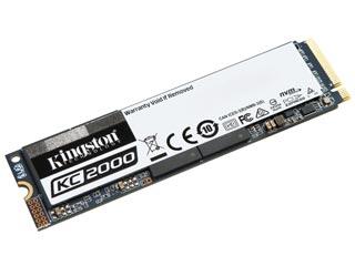 Kingston 500GB KC2000 NVMe M.2 PCI-Express SSD [SKC2000M8/500G] Εικόνα 1