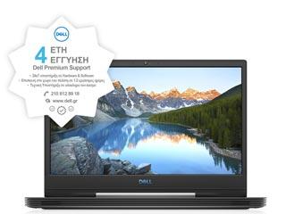 Dell G5 15 (5590) - i5-9300H - 8GB - 1TB HDD + 128GB SSD - GTX 1650 4GB - Win 10 - Deep Space Black - 4Y Premium [5590-3790] Εικόνα 1