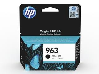 HP 963 Black Original Ink Cartridge [3JA26AE] Εικόνα 1