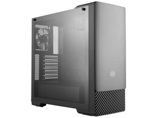 Cooler Master MasterBox E500 Windowed Mid-Tower Case Tempered Glass [MCB-E500-KG5N-S00] Εικόνα 1