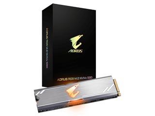 Gigabyte AORUS RGB SSD 512GB M.2 PCIe NVMe [ASM2NE2512GTTDR] Εικόνα 1