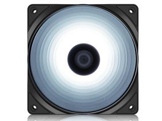 Deepcool RF120W White LED Fan [DP-FLED-RF120-WH] Εικόνα 1