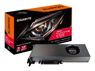 Gigabyte Radeon RX 5700 8GB [GV-R57-8GD-B] Εικόνα 1