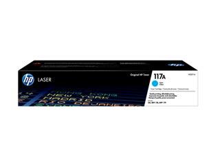 HP 117A Cyan Laser Toner Cartridge [W2071A] Εικόνα 1