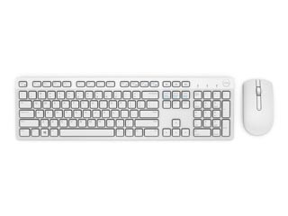 Dell Keyboard & Mouse KM636 Wireless QWERTY US/International Wireless - White [580-ADGF] Εικόνα 1