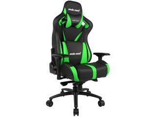 Anda Seat Gaming Chair AD12XL V2 - Black / Green [AD12XL-03-BE-PV-E04] Εικόνα 1