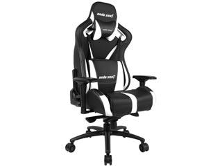 Anda Seat Gaming Chair AD12XL V2 - Black / White [AD12XL-03-BW-PV-W04] Εικόνα 1