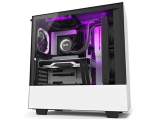 NZXT H Series H510i Windowed Mid-Tower Case with 2nd Gen CAM-Smart Features - White [CA-H510i-W1] Εικόνα 1