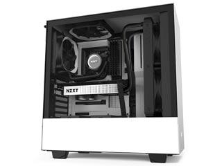 NZXT H Series H510 Windowed Mid-Tower Case - White [CA-H510B-W1] Εικόνα 1