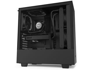 NZXT H Series H510 Windowed Mid-Tower Case - Black [CA-H510B-B1] Εικόνα 1