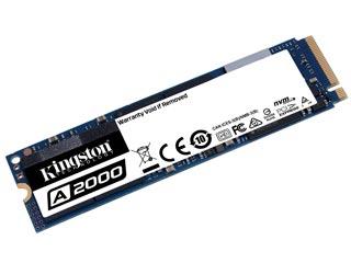 Kingston 250GB A2000 NVMe M.2 PCI-Express SSD [SA2000M8/250G] Εικόνα 1