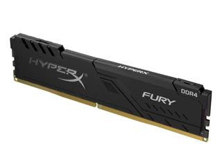 HyperX 4GB Fury DDR4 3200MHz Non-ECC CL16 [HX432C16FB3/4] Εικόνα 1