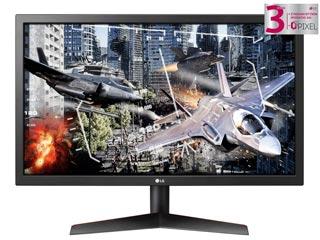 LG Electronics 24GL600F-B UltraGear Gaming Monitor 23.6¨ Full HD Wide LED TN 144Hz / 1ms with AMD Freesync Εικόνα 1
