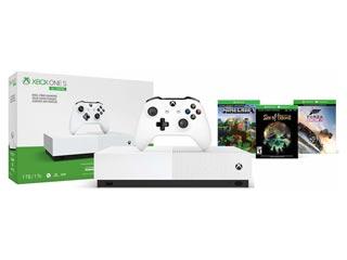 Microsoft XBOX One S All-Digital Edition 1TB + Minecraft + Forza Horizon 3 + Sea of Thieves Bundle + 2nd Contoller [NJP-00033] Εικόνα 1