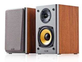 Edifier R1000T4 Bookshelf Multimedia Speakers - Brown Εικόνα 1