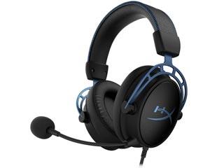HyperX Cloud Alpha S Virtual 7.1 Surround Sound - Black / Blue [HX-HSCAS-BL/WW] Εικόνα 1