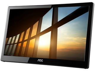 AOC I1659FWUX 15.6¨ Full HD IPS Portable USB Powered Type-A Εικόνα 1