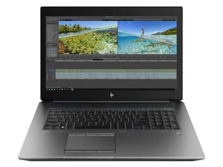 HP ZBook 17 G6 Mobile Workstation - i9-9880H - 16GB - 512GB SSD - Nvidia Quadro RTX 3000 6GB - Win 10 Pro [6TV00EA] Εικόνα 1