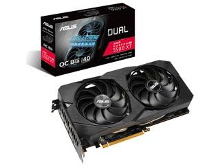 Asus Radeon RX 5500 XT Dual Evo OC 8GB [90YV0DV1-M0NA00] Εικόνα 1