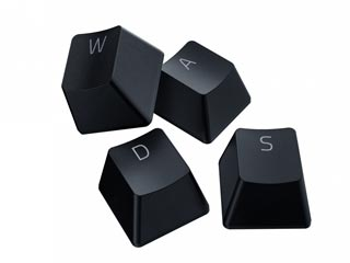 Razer PBT Keycaps Black - Upgrade Set for Mechanical & Optical Switches [RC21-01490100-R3M1] Εικόνα 1
