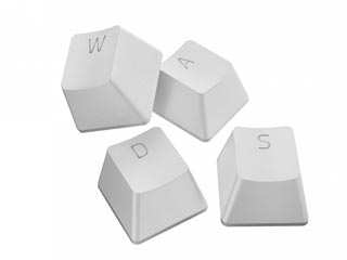 Razer PBT Keycaps Mercury White - Upgrade Set for Mechanical & Optical Switches [RC21-01490200-R3M1] Εικόνα 1