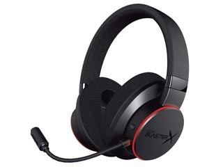 Creative Sound BlasterX H6 7.1 Surround RGB Gaming Headset [70GH039000000] Εικόνα 1