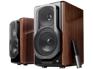 Edifier S2000MK III Bookshelf Multimedia Speakers - Brown Εικόνα 1