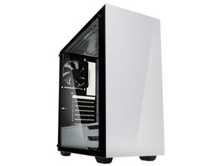 Kolink StrongHold Windowed Mid-Tower Case Tempered Glass - White Εικόνα 1