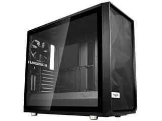 Fractal Design Meshify S2 Windowed Mid-Tower Case Tempered Glass - Black [FD-CA-MESH-S2-BKO-TGL] Εικόνα 1