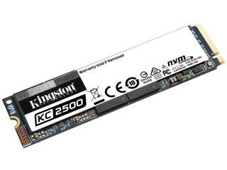 Kingston 1TB KC2500 NVMe M.2 PCI-Express SSD [SKC2500M8/1000G] Εικόνα 1