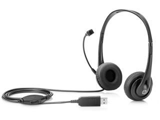 HP Stereo USB Headset [T1A67AA] Εικόνα 1