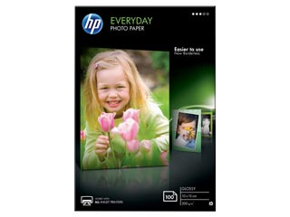 HP Everyday Glossy A6 Photo Paper (10x15cm) 200g/m² - 100 sheets [CR757A] Εικόνα 1