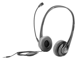 HP Stereo 3.5mm Headset [T1A66AA] Εικόνα 1
