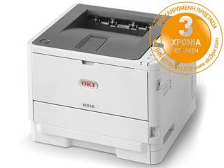 OKI B512dn Mono Laser Printer Εικόνα 1