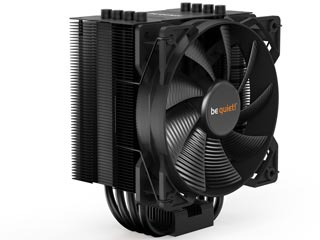 Be Quiet! CPU Cooler Pure Rock 2 - Black [BK007] Εικόνα 1