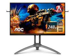 AOC AGON AG273QZ 27 Quad HD Wide LED TN - 240Hz / 0.5ms - AMD FreeSync - HDR Ready Εικόνα 1