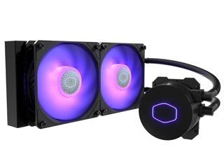 Cooler Master MasterLiquid ML240L V2 RGB Liquid CPU Cooler [MLW-D24M-A18PC-R2] Εικόνα 1