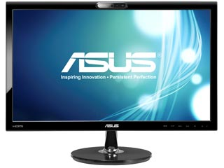 Asus VK228H 21.5¨ Full HD Business Monitor with Webcam [90LMF9101Q03241C] Εικόνα 1