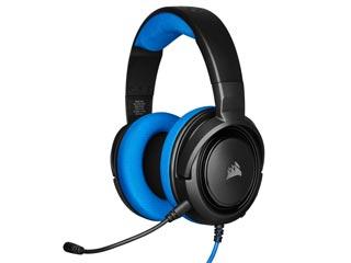 Corsair HS35 Stereo Gaming Headset - Blue [CA-9011196-EU] Εικόνα 1
